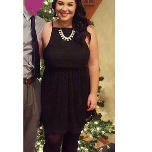 Francesca's sparkle black dress